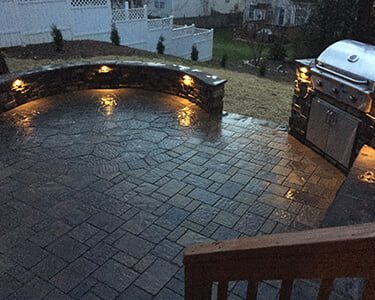 Landscape lighting in Charlotte makes your space usable at night.