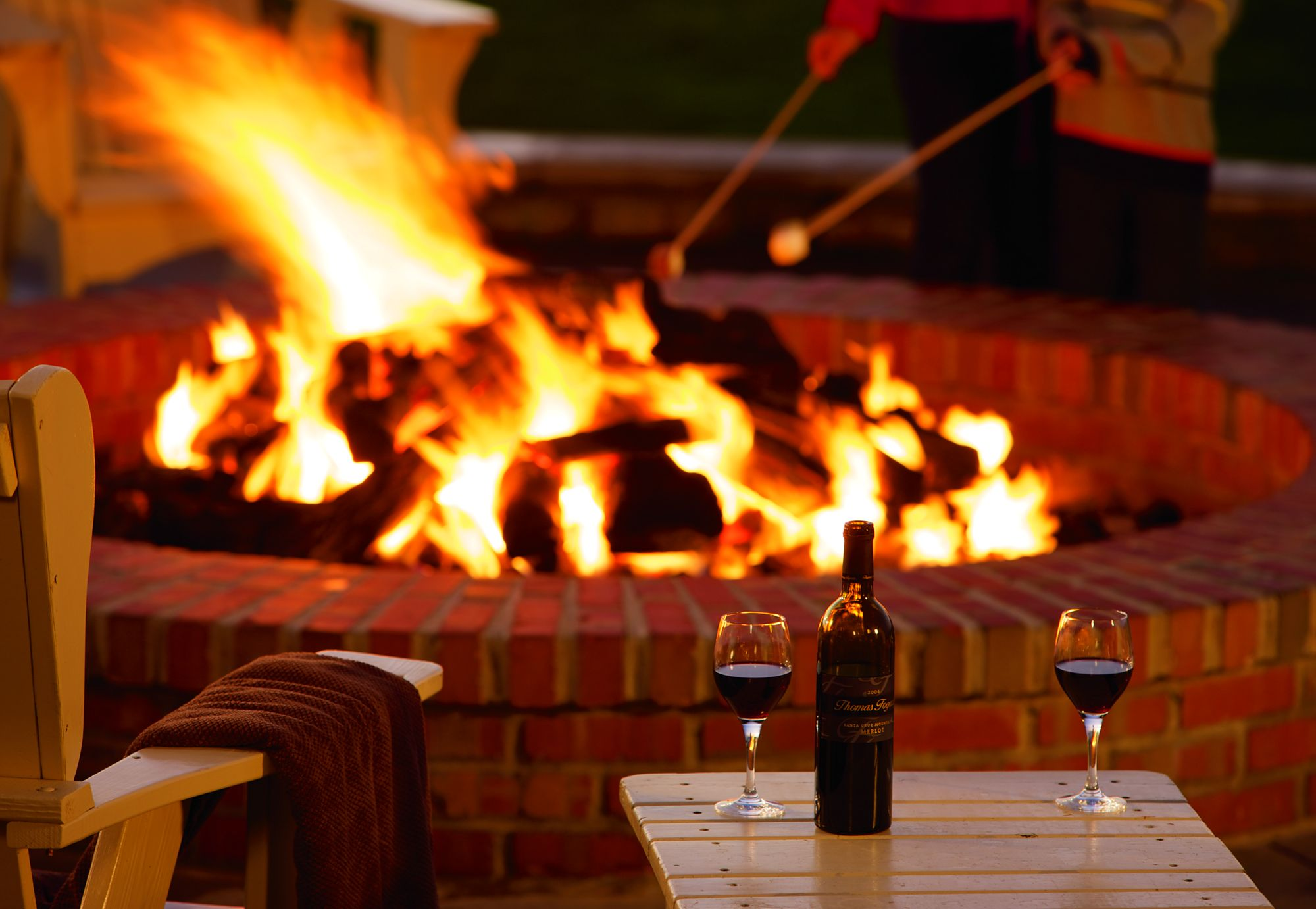 It's Fall about Family and Friends – sitting around the firepit