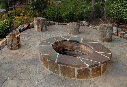 Fire pit company in Charlotte, NC provides custom work.