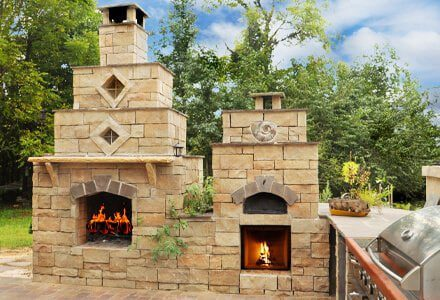 Outdoor fire pit: Charlotte NC designs and options.