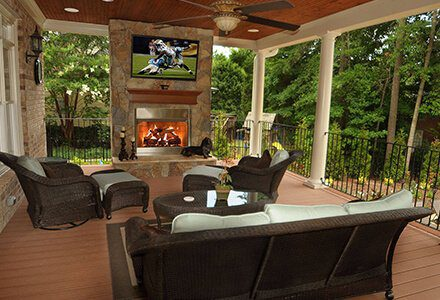 Custom fire pit companies in Charlotte, NC can design your dream hardscape.