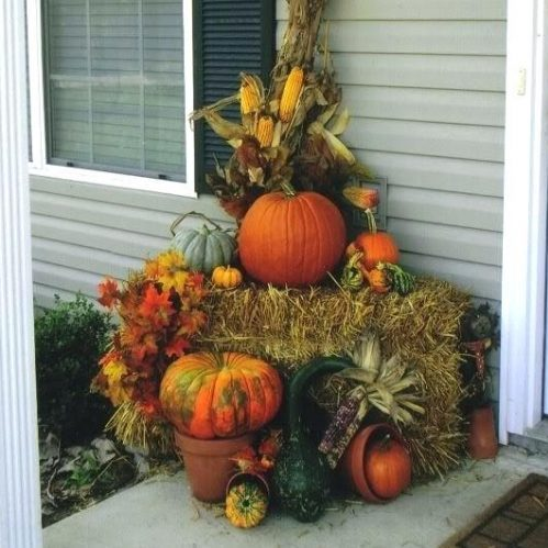 A sCare Free Halloween Front Porch
