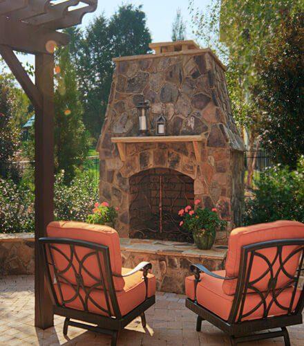 Natural Stone Fireplace | Huntersville NC