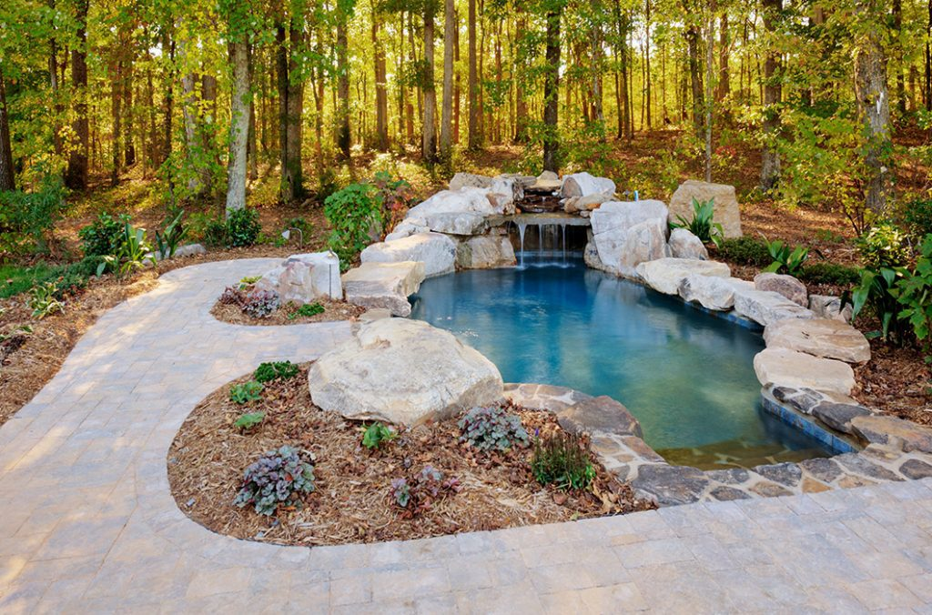 Boulders are another way to landscape with rocks